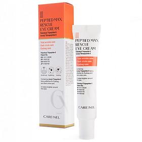 Kem dưỡng giảm quầng thâm – căng da – ngừa nếp nhăn – bọng mắt Care:nel Peptided Max Rescue Eye Cream 25ml