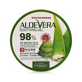 Gel Dưỡng Thể White Good Nature Aloe Vera Soothing Gel 98% Organia (300g)