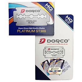 Dorco HQ ST300 10 Vỉ lưỡi dao lam cạo râu cực sắc