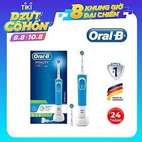 Bàn chải đánh răng điện Oral-B Vitality 170 CrossAction - 2 Đầu thay