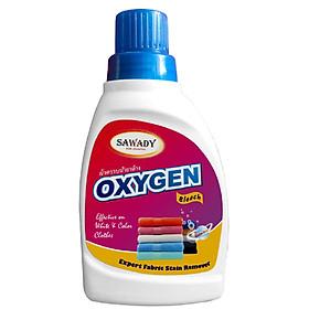 Nước tẩy quần áo Sawady Oxygen 450ml sạch an toàn vải