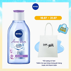 Nước Tẩy Trang Nivea Ngừa Mụn Acne Care Micellar Water (400ML) - 80116