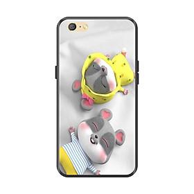 Ốp lưng TPU viền dẻo cho điện thoại OPPO A71 Hình Chuột Tết 2020 - Mẫu 25