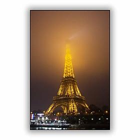 Hình đại diện sản phẩm Tranh trang trí in UV Tranh trang trí Tháp Eiffel Trong Tôi