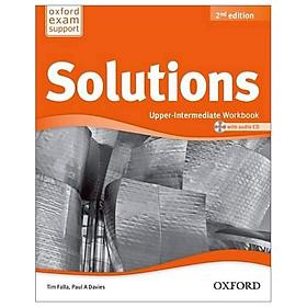 Solutions: Upper-Intermediate: Workbook & CD Pack - 2nd Edition
