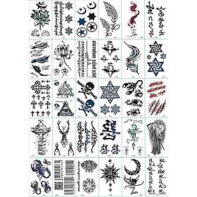 30 Tờ Hình Xăm Dán Tattoo Tha Thu Từ 55 - 120 Mẫu