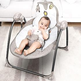 Nôi đưa tự động , nôi em bé , ghế nằm cho bé cao cấp