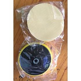 Đĩa dán giấy nhám + 1 miếng nhám