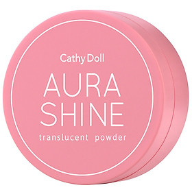 Phấn phủ trong suốt sáng da Cathy Doll Aura Shine Translucent Powder 4.5g