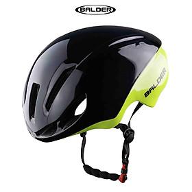 Nón bảo hiểm xe đạp thể thao BALDER TT1 B79 cao cấp ĐEN LÁ