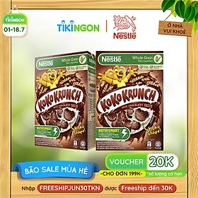 [Chỉ giao HN] Combo 2 Hộp Ngũ cốc ăn sáng KOKO KRUNCH (Hộp 330g)