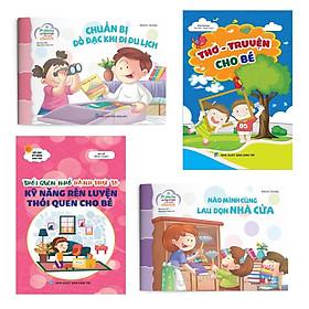 Combo sách kỹ năng - Rèn luyện thói quen tốt cho bé (Dành cho trẻ 4 - 10 tuổi)