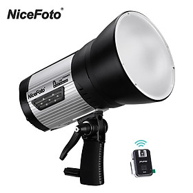 NiceFoto Classic Series nflash300 Wireless Studio Flash Light Portable 5500K Strobe Lighting Lamp 0.1-2s Fast Recycling