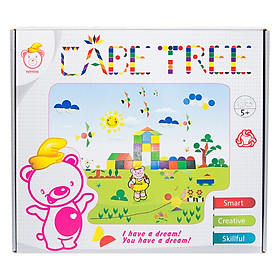 Đồ Chơi Gỗ Cabe Tottosi Tree 301005 (480 Mảnh)