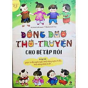 Sách - Đồng Dao Thơ - Truyện cho bé tập nói