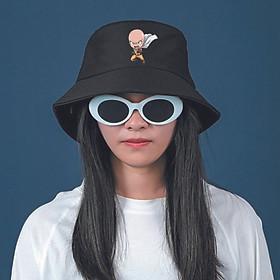 Mũ bucket đen IN HÌNH One-Punch Man anime