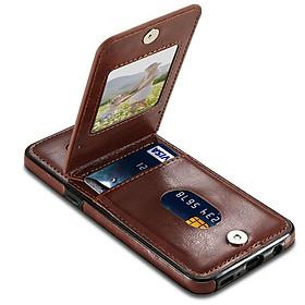 Bao da Samsung S8 Plus/ S9/ S9 Plus/ Note 9 kiêm ví đựng thẻ, card