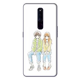 Ốp lưng điện thoại Oppo F11 Pro hình Anh và Em - Hàng chính hãng