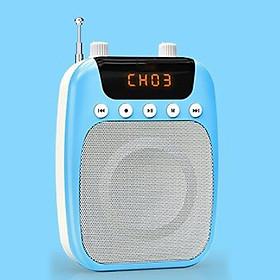 Mic trợ giảng gồm 1 Loa + 3 Mic ( mic không dây + mic có dây + mic kẹp cổ áo) cho Giáo viên MC - AS358
