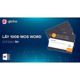 Chinh phục MOS Word 2013 cùng Nimbus