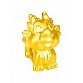 Charm Vàng 24K 12 Con giáp - Thìn - Ancarat - Miễn phí tết vòng tay Handmade đi kèm