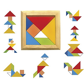 Tangram Đôi  - Đồ chơi trí tuệ