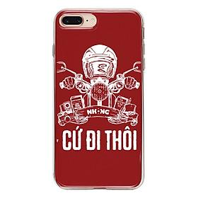 Hình đại diện sản phẩm Ốp Lưng Mika Cho iPhone 7 Plus / 8 Plus NHONG-CU-DI- THOI-004-C-IP7P - Hàng Chính Hãng