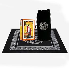 Combo Bộ Bài Tarot The Magician Cao Câp và Túi Nhung Đựng Tarot và Khăn Trải Bàn Tarot