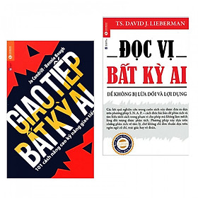 Combo 2 cuốn kỹ năng làm việc số 1: Đọc Vị Bất Kỳ Ai + Giao Tiếp Bất Kỳ Ai (tặng kèm bookmark PĐ)