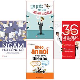 Bookset Sách: Nt ứng Xử Nơi Công Sở (4 Cuốn Quy Tắc Ngầm+Khéo Ăn Nói+ Hài Hước 1 Chút+ 36 Tuyệt Chiêu)