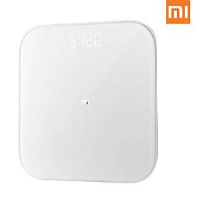 Cân điện tử thông minh Xiaomi Mi 2 phân tích thông số cơ thể kết nối Bluetooth 5.0 dự đoán sức khỏe
