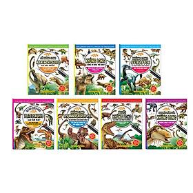 Combo sách Kiến thức về khủng long trọn bộ 7 cuốn