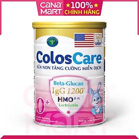 Sữa non Nutricare ColosCare 0+ hỗ trợ tiêu hóa, tăng cường hệ miễn dịch (800g)