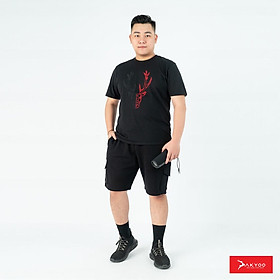 Áo Thun Bigsize Nam, Áo Thun Ngoại Cỡ, Áo Thun Bigsize(80-140kg)