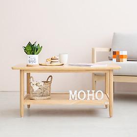 Bàn Sofa - Bàn Cafe - Bàn Trà Gỗ Sồi MOHO MILAN 902