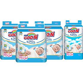 Combo 3 Gói Tã Dán Goo.n Premium Cực Đại Newborn NB70 (70 Miếng) - Tặng 1 Tã Dán Đại NB42 (42 Miếng)