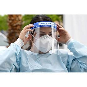 [set 5 cái] Kính che giọt bắn phòng dịch loại tấm che mặt Face Shield