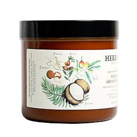 Kem ủ tóc từ 5 loại dầu siêu chất dành cho tóc Herbario 500ml-0