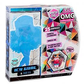 Đồ Chơi Búp bê thời trang O.M.G Giáng sinh- Icy & Br BB LOL SURPRISE 570240E7C