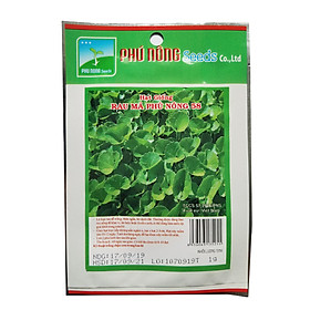 Hạt giống rau má Phú Nông-58 (1g/gói) | Thân ngắn, dễ trồng | Centella asiatica Seeds
