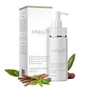 Kem ủ trắng toàn thân an toàn Xwhite được chuyên gia da liễu khuyên dùng 150ml - Whitening Body Cream