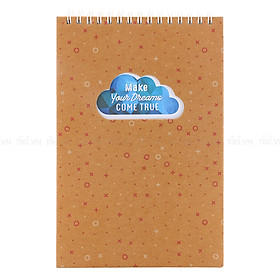 Số Lò Xo Notebook-SPC04- Make Your Dreams Come True