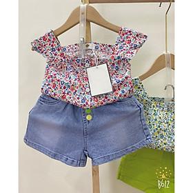 Set bộ áo cánh tiên và quần jean dễ thương cho bé gái (từ 12-23kg)