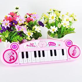 Đàn Piano 12 phím tập chơi cho bé 34*9.5*3.5cm, chọn màu theo ý+Tặng kèm pin