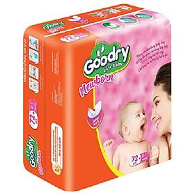 Bộ 4 Gói Lót Goodry sơ sinh 72 miếng