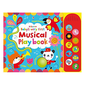 Usborne Baby's Very First Musical Play book with sound panel