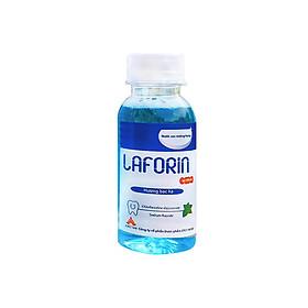 Nước súc miệng diệt khuẩn, diệt virus Laforin dành cho người lớn, hương bạc hà không cay xót, ngăn ngừa bệnh răng miệng, nhiệt miệng, hôi miệng, giữ cho hơi thở thơm mát (Chai 100ml)