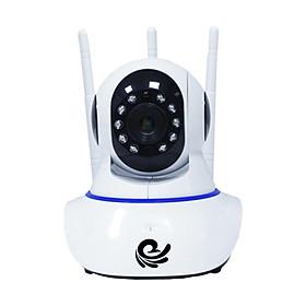 Camera Wifi- Carecam IP Kết Nối Wifi Không Dây Trong Nhà 3 Râu CC1021 Siêu Nét 2.0 FullHD 1920x1080p - Dùng APP CARECAM PRO - Hàng Nhập Khẩu