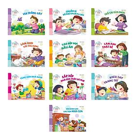Combo Trọn bộ sách kỹ năng sống cho trẻ mầm non