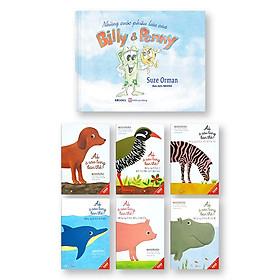 Bộ 2 Cuốn Những Cuộc Phiêu Lưu Của Billy & Penny ( Sách Màu - Bìa Cứng ) + Combo Ai ở Sau Lưng Bạn Thế